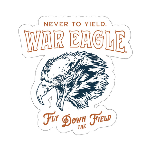 The Fly Down The Field | Sticker