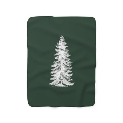 The Christmas Pine | Sherpa Fleece Blanket