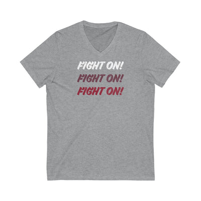 The Fight On Fight On | V-Neck Tee