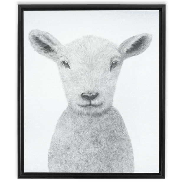 The Lamb | Framed Canvas Wraps
