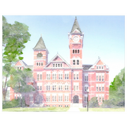 The Samford Hall | Art Print
