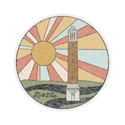 The Denny Chimes Sunset | Sticker