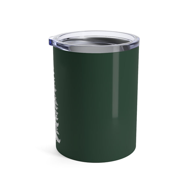 The Christmas Pine Green | 10 oz. Tumbler