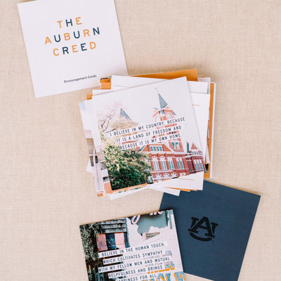The Auburn Creed | Encouragement Cards