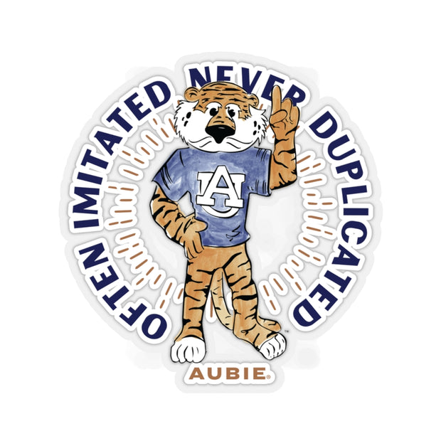 The Retro Aubie | Sticker