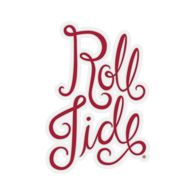The Roll Tide Script | Sticker