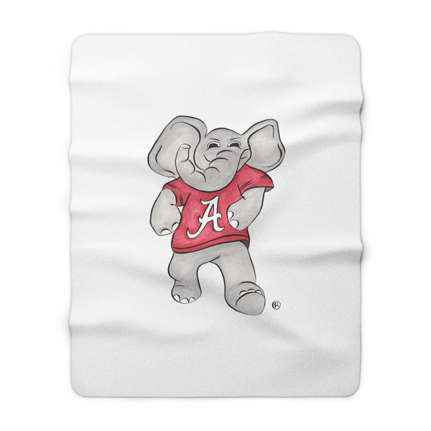 The Big Al | Sherpa Fleece Blanket