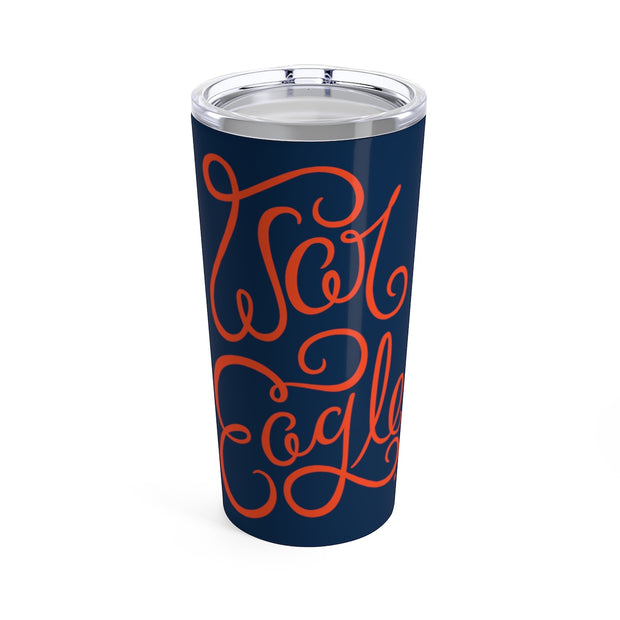 The War Eagle Script | 20 oz. Tumbler