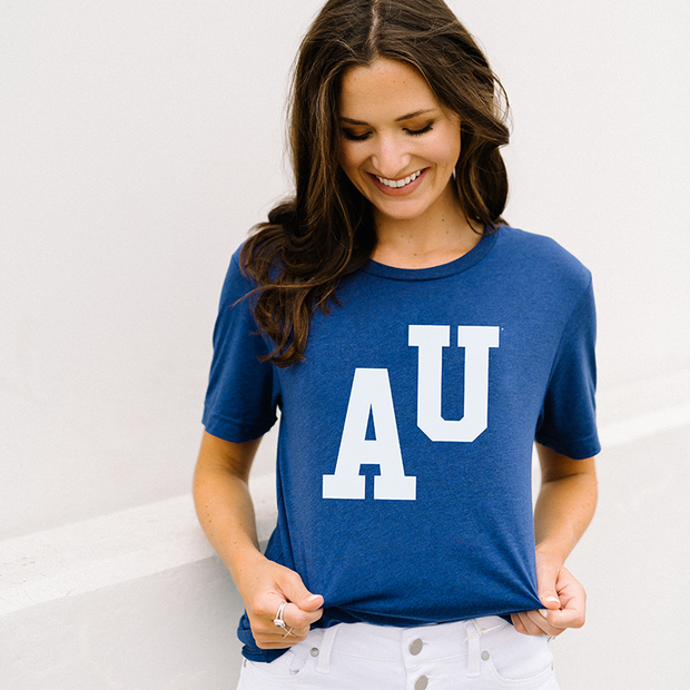The AU Letterman | Triblend Tee