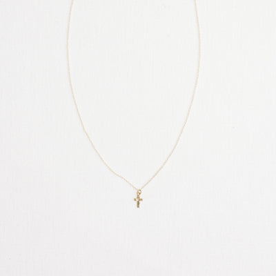 The Tiny Gold Cross | Necklace