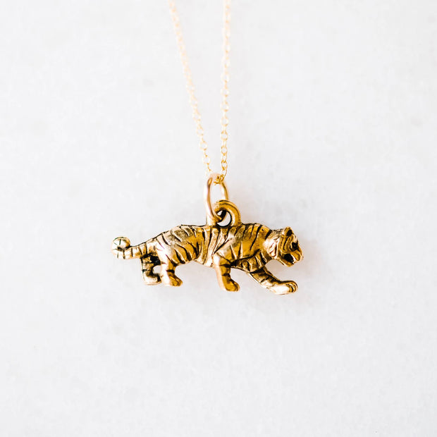 The Tiger Charm | Necklace