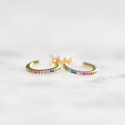 The Rainbow Huggie | Earring
