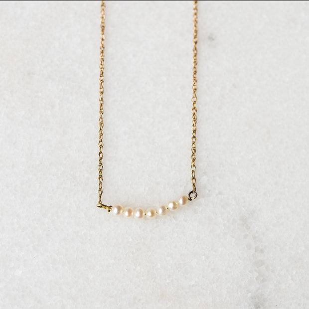 The Pearl Bar | Necklace