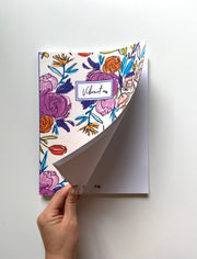 The Hand Drawn Large | Notebook