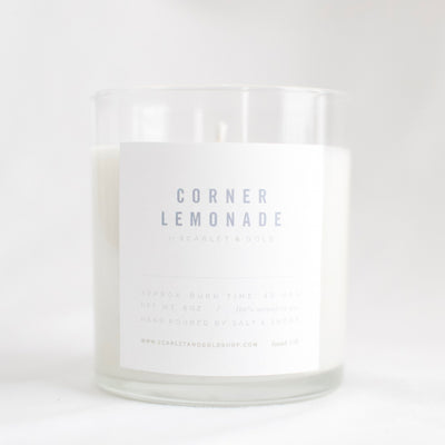 The Corner Lemonade | Candle