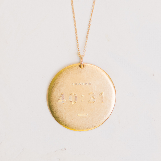 The Isaiah 40:31 | Necklace