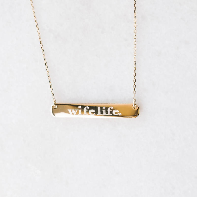 Wife Life Bar | Necklace