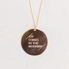The Joy Comes in the Morning | Necklace