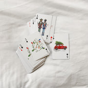 The Christmas Cards | Hand Painted Playing Cards