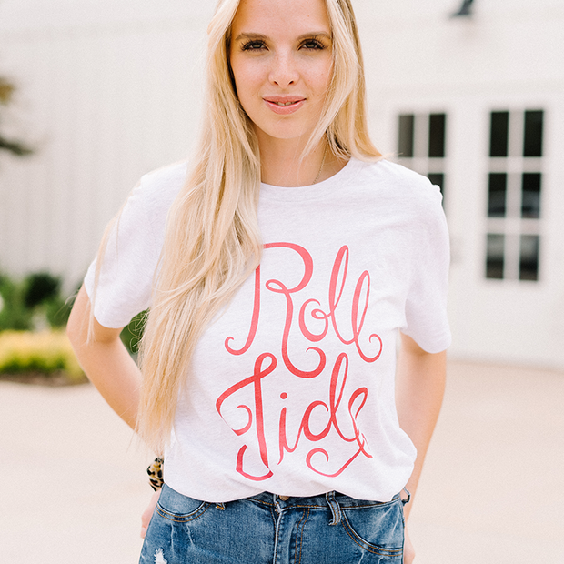 The Roll Tide Script | Tee