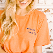 The Weagle Weagle | Embroidered Tee