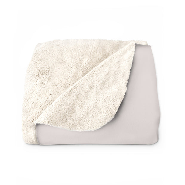 The Mom Life | Sherpa Fleece Blanket