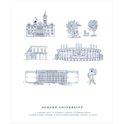The Auburn Campus | Art Print