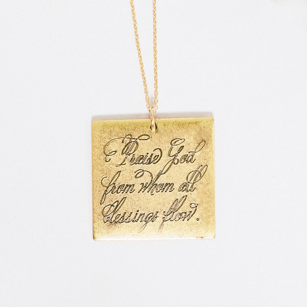 Praise God | Necklace