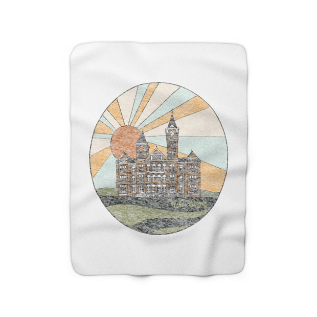 The Samford Sunset | Sherpa Fleece Blanket