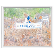 The Tiger Walk | Framed Canvas Wraps