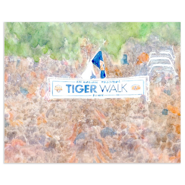 The Tiger Walk | Art Print
