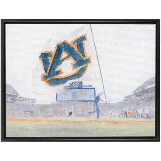 The Touchdown Auburn | Framed Canvas Wraps