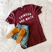 The Crimson & White | Triblend Tee