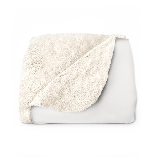 The Work Hard | Sherpa Fleece Blanket