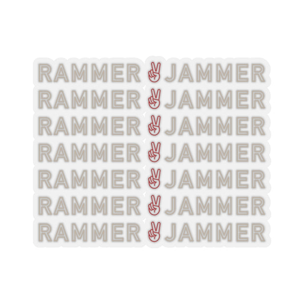 The Peace And Rammer Jammer | Sticker