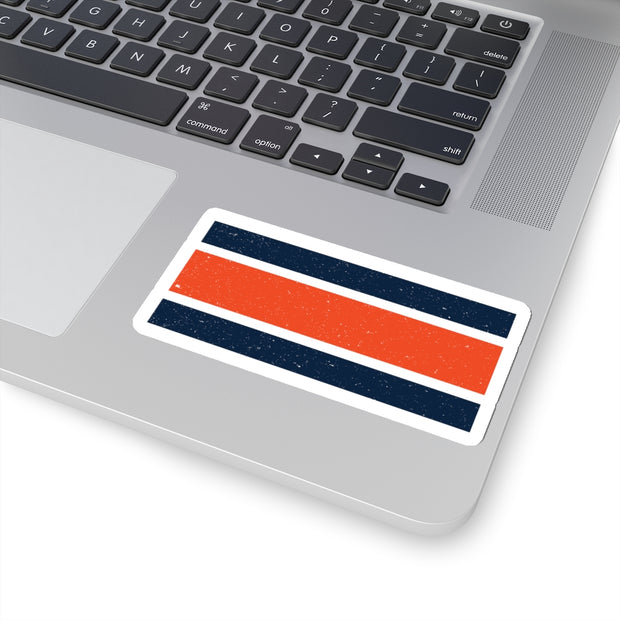The Auburn Stripes | Sticker