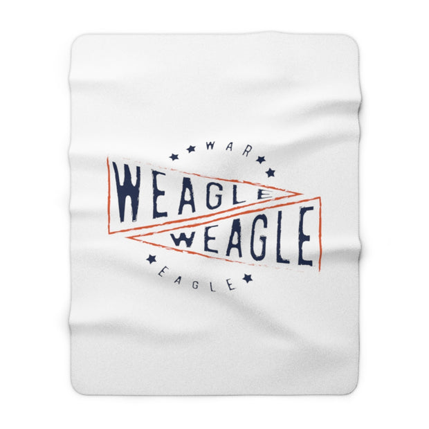 The Weagle Weagle Flag | Sherpa Fleece Blanket