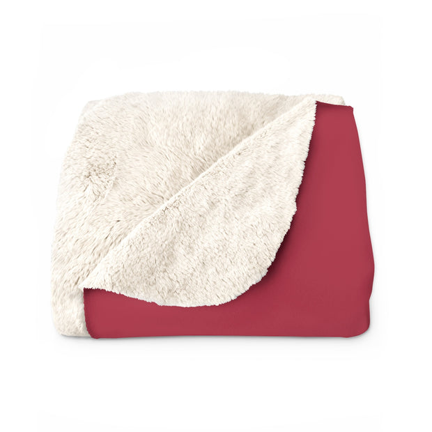 The Roll Tide Script | Sherpa Fleece Blanket