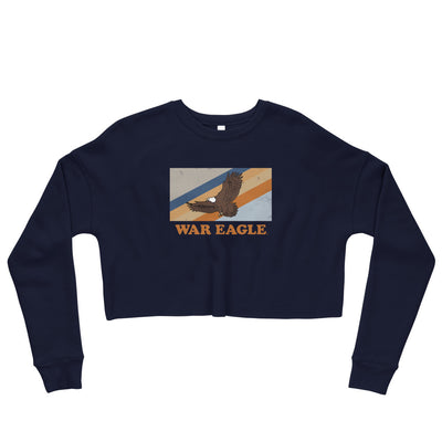War Eagle Stripes | Crop Sweatshirt