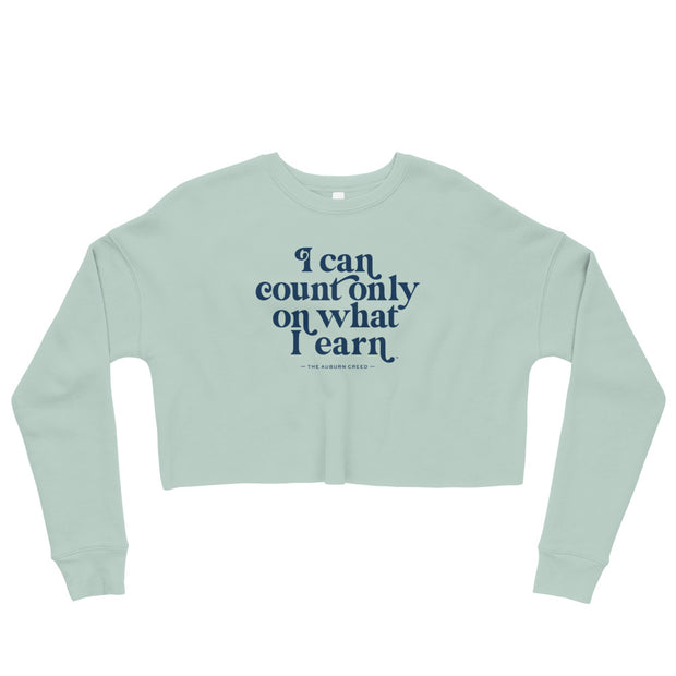 The What I Earn | Crop Sweatshirt