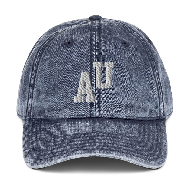 The AU Letterman | Distressed Hat