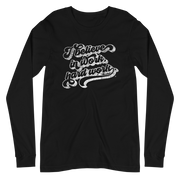 The Creed Script | Long Sleeve Tee