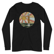 The Denny Chimes Sunset | Long Sleeve Tee