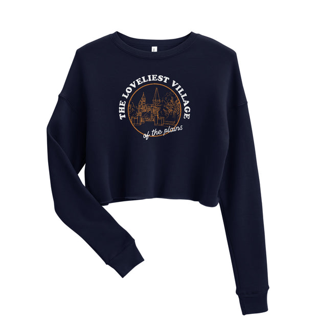 The Loveliest Village | Crop Sweatshirt