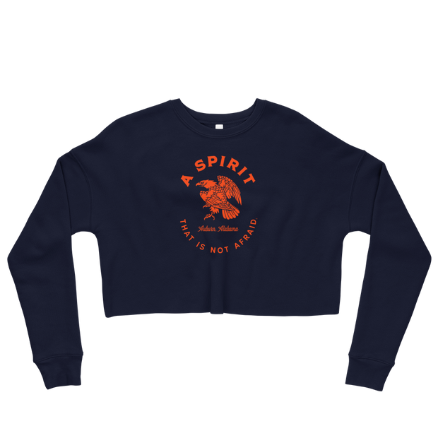 The Spirit Not Afraid | Crop Sweatshirt