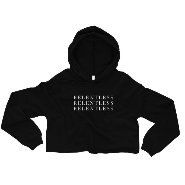 The Relentless | Crop Hoodie