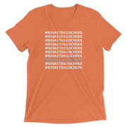 The #BasketballSchool | Triblend Tee