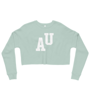 The AU Letterman | Crop Sweatshirt