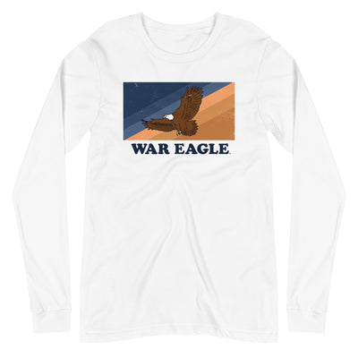 The War Eagle Stripes | Long Sleeve Tee