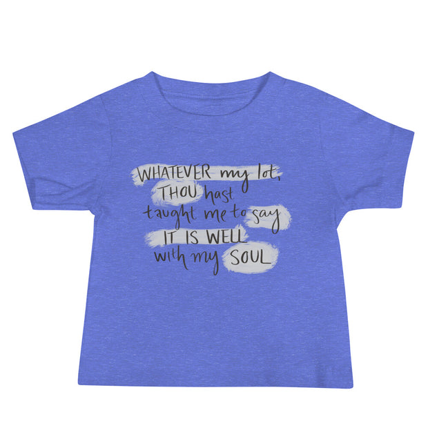 The It is Well | Baby Tee